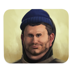 Ethan drawing from h3h3productions - Mouse pad Horizontal