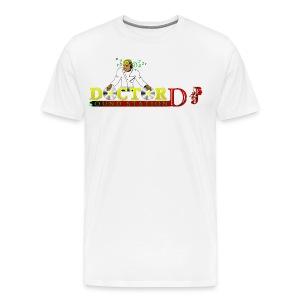 Doctor DJ T-Shirt (White) - Men's Premium T-Shirt