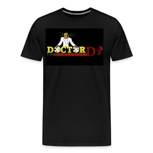 Doctor DJ T-Shirt (Black0 - Men's Premium T-Shirt