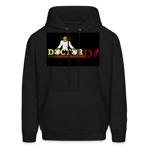 Doctor DJ Hoodie (Black) - Men's Hoodie