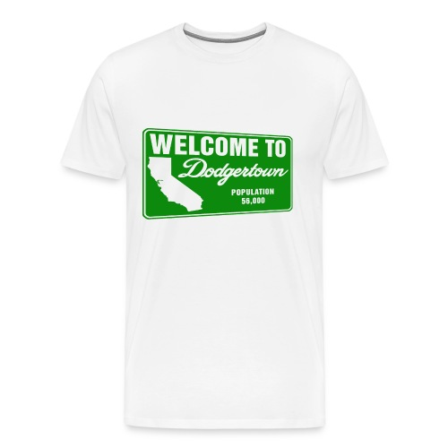 Welcome to Dodgertown - Men's Premium T-Shirt