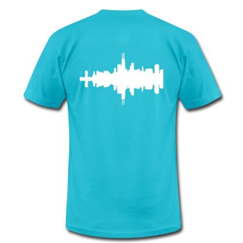 iProduce - SPKRBNGRZ T-Shirt   - Men's Fine Jersey T-Shirt