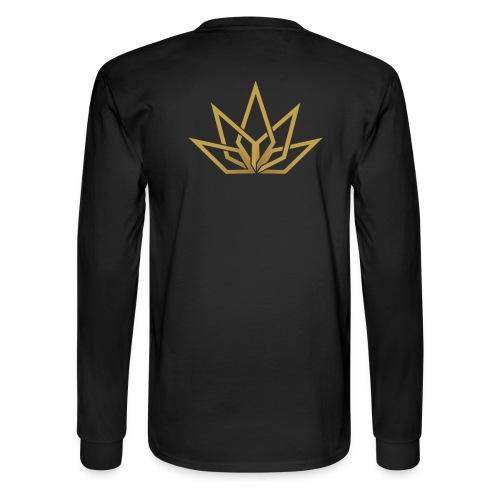 DHG - Written Chest Text Gold - Men's - Men's Long Sleeve T-Shirt