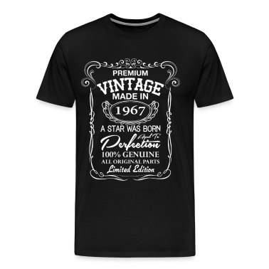 Vintage Made In 1967 T Shirts T Shirt Spreadshirt