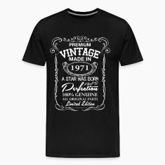 vintage made in 1971 T-Shirts