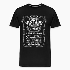 vintage made in 1986 T-Shirts