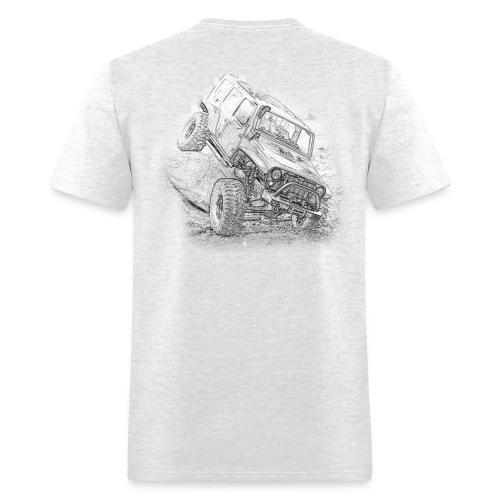 FotoGuy JKU White/Grey - Men's T-Shirt