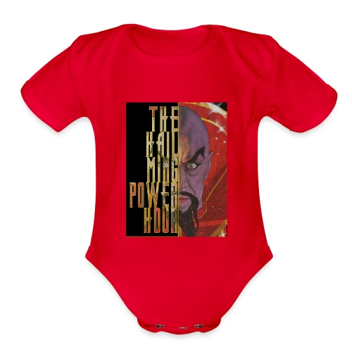 Hail Ming Power Hour Baby Short Sleeve One Piece - Organic Short Sleeve Baby Bodysuit