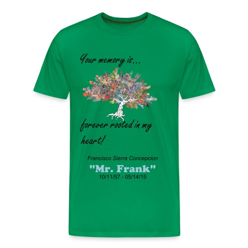 1st Year Memorial Mr. Frank - Men's Premium T-Shirt