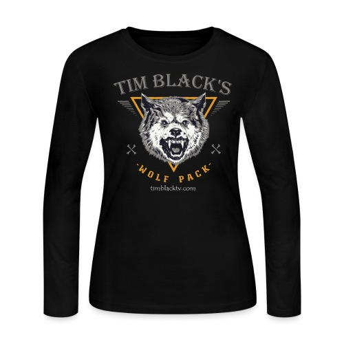 Tim Black's Wolf Pack Women's Long Sleeve - Women's Long Sleeve Jersey T-Shirt