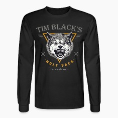 Tim Black's Wolf Pack Men's Long Sleeve Tee