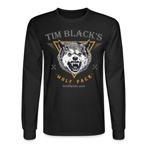 Tim Black's Wolf Pack Men's Long Sleeve Tee - Men's Long Sleeve T-Shirt