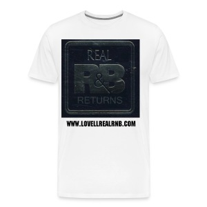 REAL RNB RETURNS LOGO - Men's Premium T-Shirt