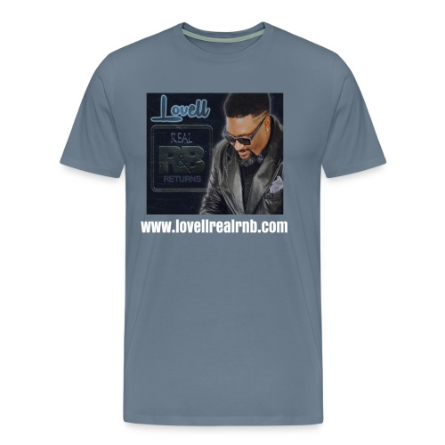 LOVELL CD (BLUE) - Men's Premium T-Shirt