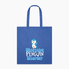 Cute Blue Penguin