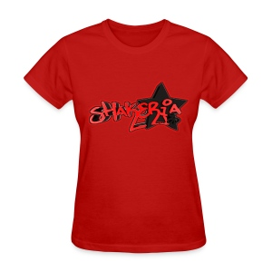 Blox3dnyc.com Urban star design for Shakeria - Women's T-Shirt