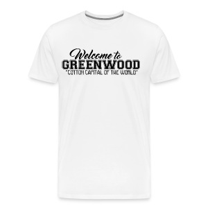 Welcome to Greenwood - Men's Premium T-Shirt