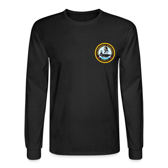 USS THEODORE ROOSEVELT 2003 TIGER CRUISE SHIRT - LONG SLEEVE - CLAW