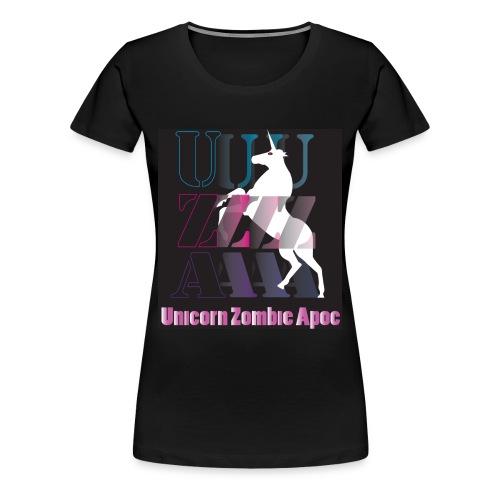 UZA Ladies Recruitment Shirt - Women's Premium T-Shirt