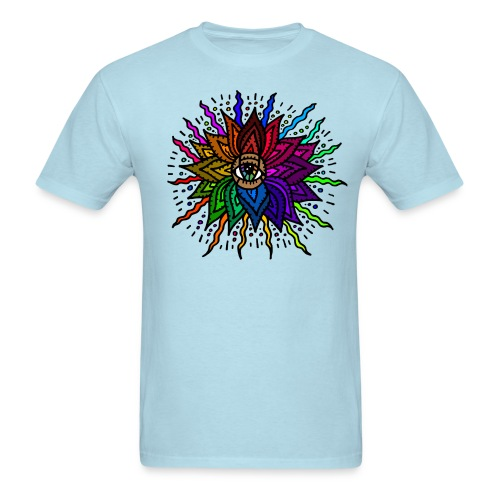 Flower Mandala Man's Shirt - Men's T-Shirt