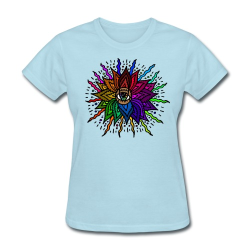 Flower Mandala Women's Shirt - Women's T-Shirt