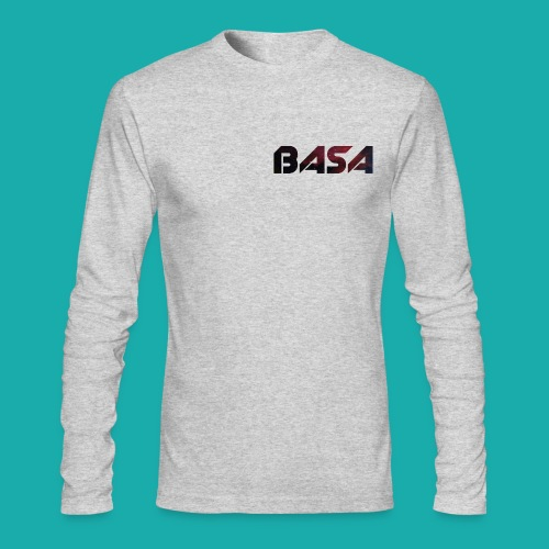 BASA Word Logo Long Sleeve - Men's Long Sleeve T-Shirt by Next Level