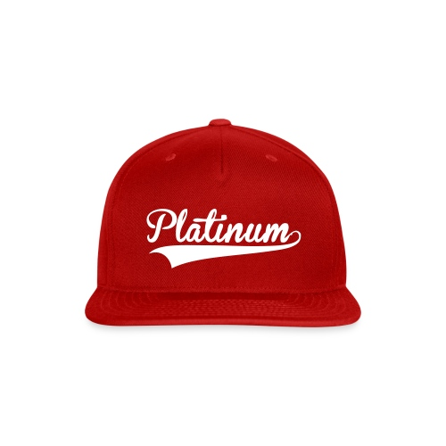 Red Baller SnapBack - Snap-back Baseball Cap