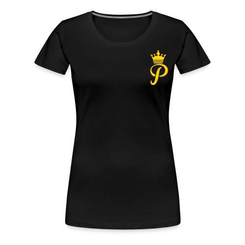 Ladies Platinum Gold Logo - Women's Premium T-Shirt