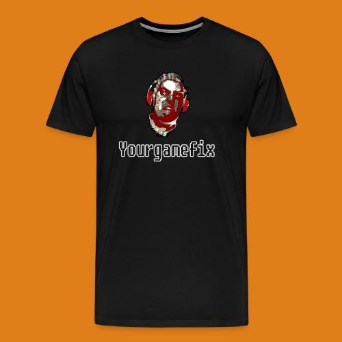 Men's Premium YGF Logo Shirt - Men's Premium T-Shirt