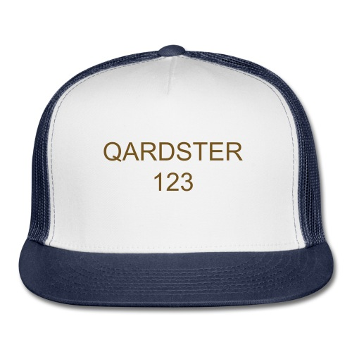 qardster123 official cap out now  - Trucker Cap