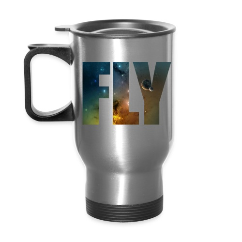 corey's t-shirt - Travel Mug