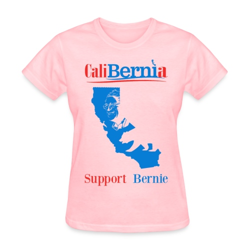 CaliBernia - California for Bernie Sanders - Women's T-Shirt
