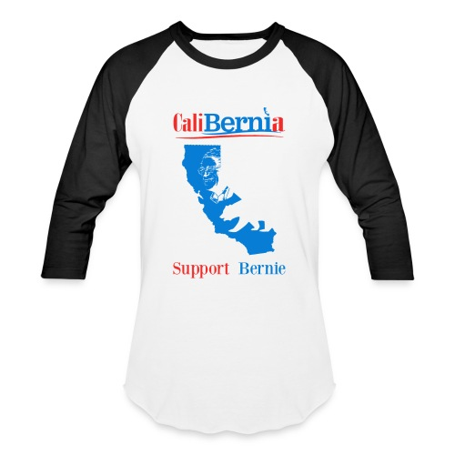 CaliBernia - California for Bernie Sanders - Baseball T-Shirt