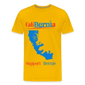 CaliBernia - California for Bernie Sanders - Men's Premium T-Shirt