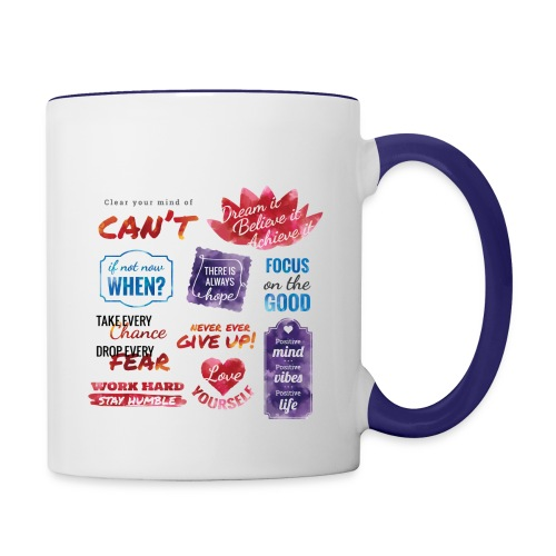 Coffee Mug - Design (Right, Front, Left) - Contrast Coffee Mug