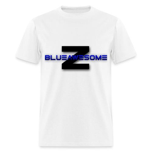 ZBLUEawesome Logo - Men's Tshirt - Men's T-Shirt