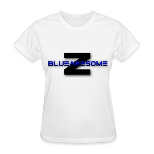 ZBLUEawesome Logo - Women's Tshirt - Women's T-Shirt