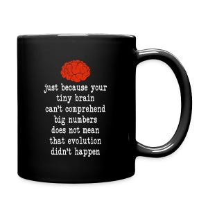 Evolution / Tiny Brain - Full Color Mug