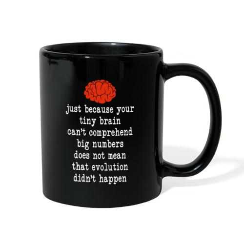 Evolution / Tiny Brain - Full Color Mug