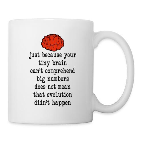 Evolution / Tiny Brain - Coffee/Tea Mug