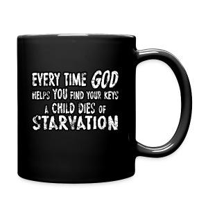 Child Dies of Starvation - Full Color Mug