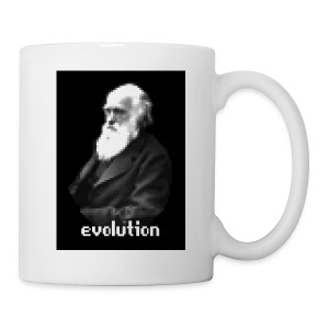 Darwin Pixel Portrait - Coffee/Tea Mug