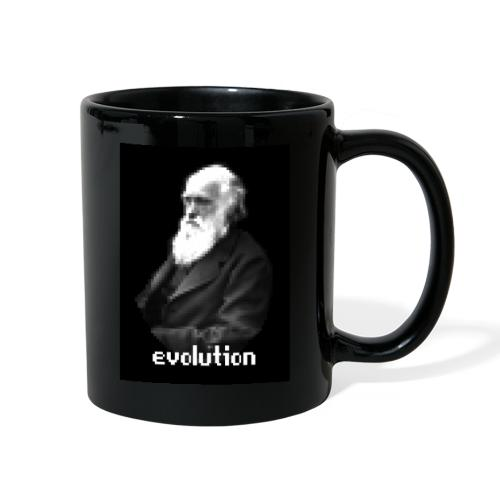 Darwin Pixel Portrait - Full Color Mug