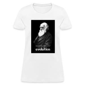 Darwin Pixel Portrait - Women's T-Shirt