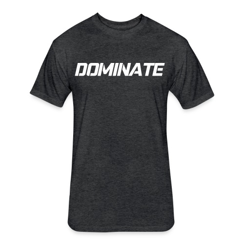 Men's - Dominate - Fitted Cotton/Poly T-Shirt by Next Level