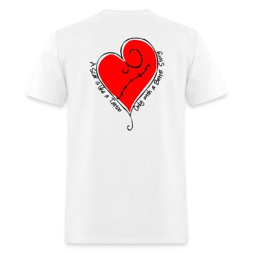 Adult - Scar is like a tattoo - Tee Shirt - Men's T-Shirt