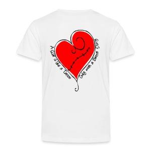 Toddler - Scar is like a tattoo - Tee Shirt - Toddler Premium T-Shirt