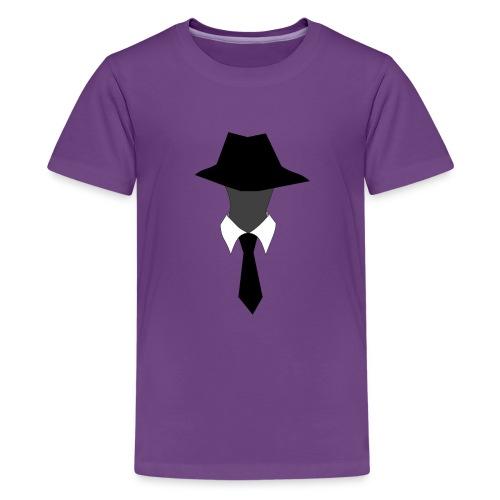Kid's SuperAgentMan Logo T-Shirt - Kids' Premium T-Shirt