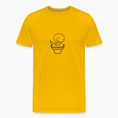 flowerpot bucket cute little cute baby kawaii chil T-Shirts