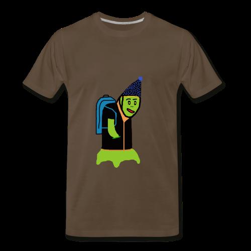 Green Monster Student T-Shirt - Men's Premium T-Shirt
